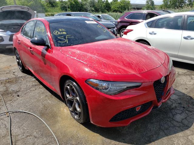Vehiculos salvage en venta de Copart Woodhaven, MI: 2018 Alfa Romeo Giulia Q4