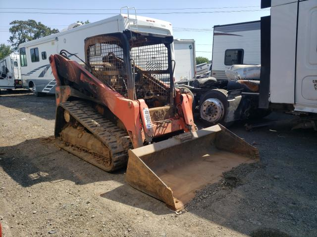 Salvage motorcycles for sale at Eugene, OR auction: 2015 Kubota SVL90