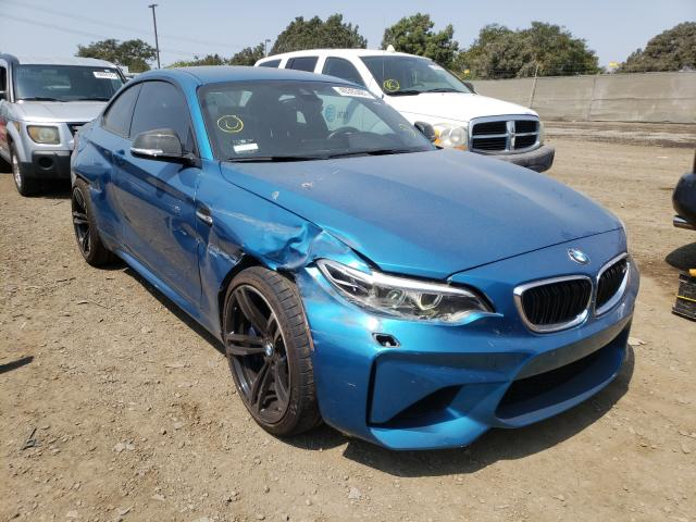 BMW M2 salvage cars for sale: 2016 BMW M2