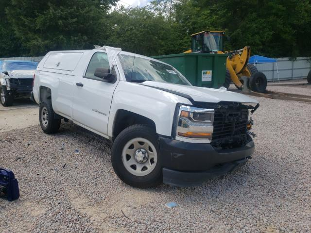 Salvage cars for sale from Copart Knightdale, NC: 2017 Chevrolet Silverado