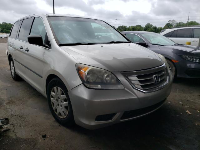 Salvage cars for sale from Copart Fort Wayne, IN: 2008 Honda Odyssey