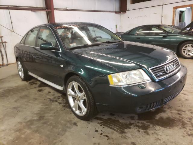 Salvage cars for sale from Copart West Warren, MA: 2000 Audi A6 2.7T Quattro