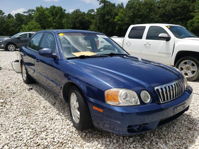 KIA salvage cars for sale: 2003 KIA Optima LX