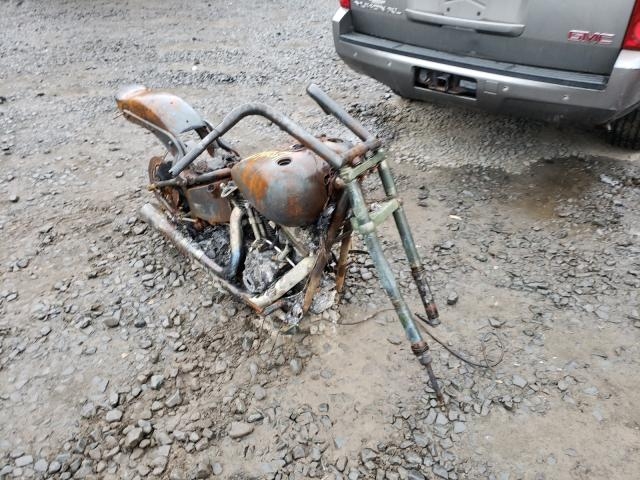 Salvage motorcycles for sale at New Britain, CT auction: 2005 Harley-Davidson Fxstb