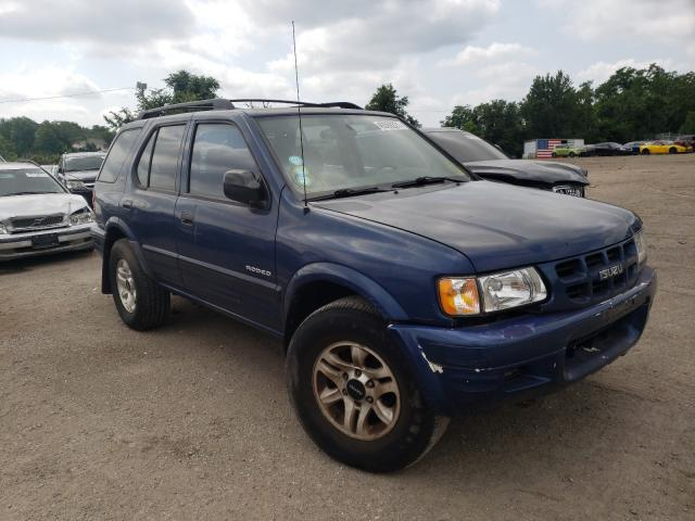 Salvage cars for sale from Copart Baltimore, MD: 2002 Isuzu Rodeo S