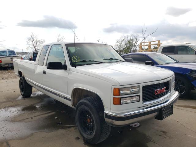 Salvage cars for sale at Grand Prairie, TX auction: 1998 GMC Sierra C25