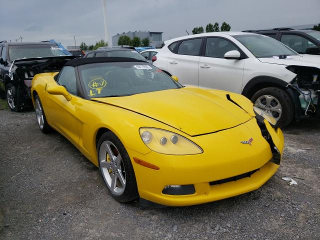 Salvage cars for sale from Copart Ontario Auction, ON: 2005 Chevrolet Corvette