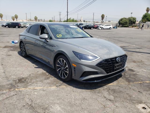 Salvage cars for sale from Copart Colton, CA: 2021 Hyundai Sonata LIM