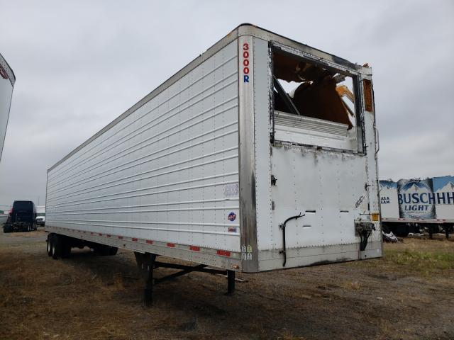 Salvage trucks for sale at Dyer, IN auction: 2013 Utility Reefer