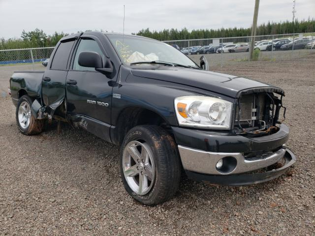 Salvage cars for sale from Copart Moncton, NB: 2007 Dodge RAM 1500 S