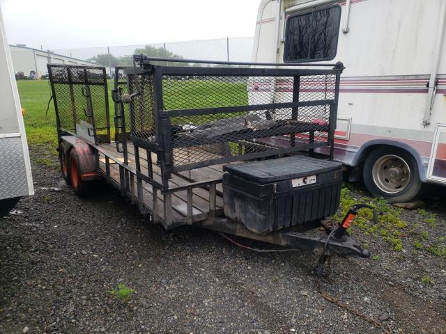 Salvage cars for sale from Copart Pennsburg, PA: 2000 HMD Trailer