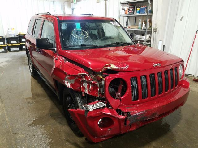 Salvage cars for sale from Copart Anchorage, AK: 2008 Jeep Patriot SP