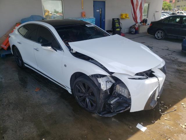 Lexus LS 500 Base salvage cars for sale: 2019 Lexus LS 500 Base