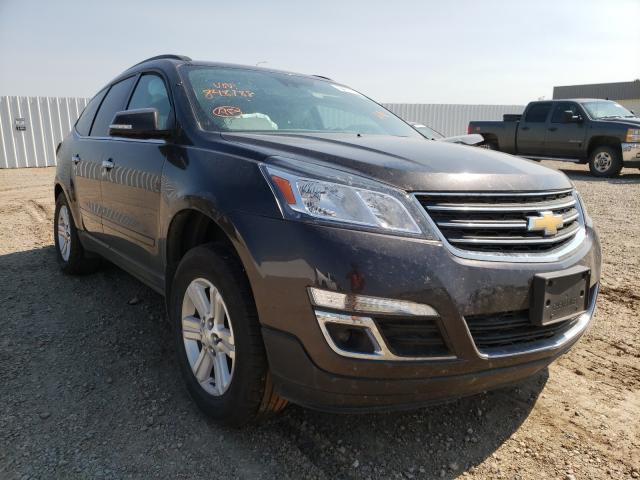 Vehiculos salvage en venta de Copart Bismarck, ND: 2014 Chevrolet Traverse L
