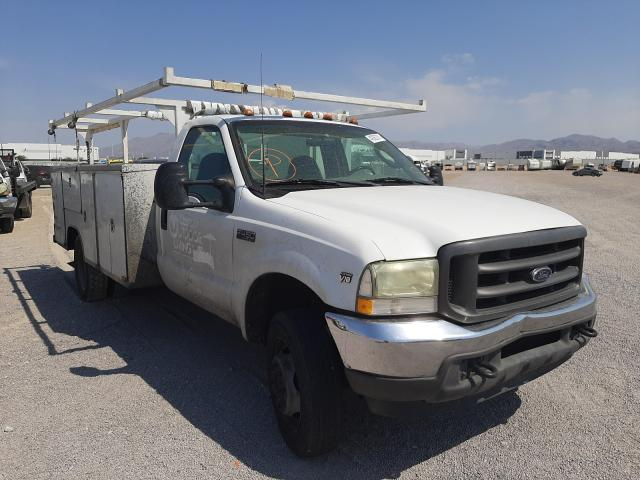 Salvage cars for sale from Copart Las Vegas, NV: 2003 Ford F450 Super