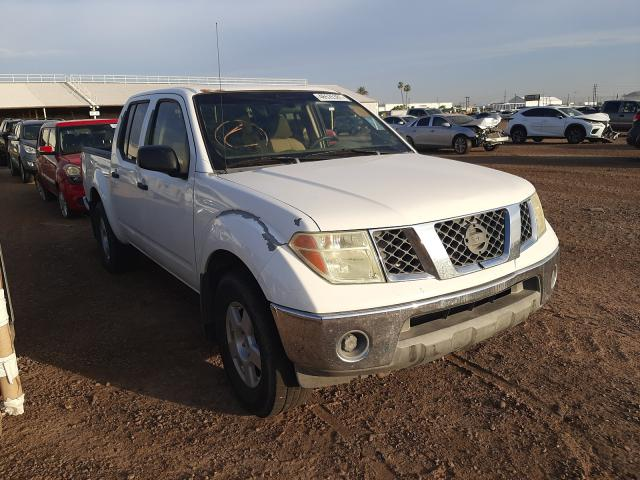 Salvage cars for sale from Copart Phoenix, AZ: 2006 Nissan Frontier C