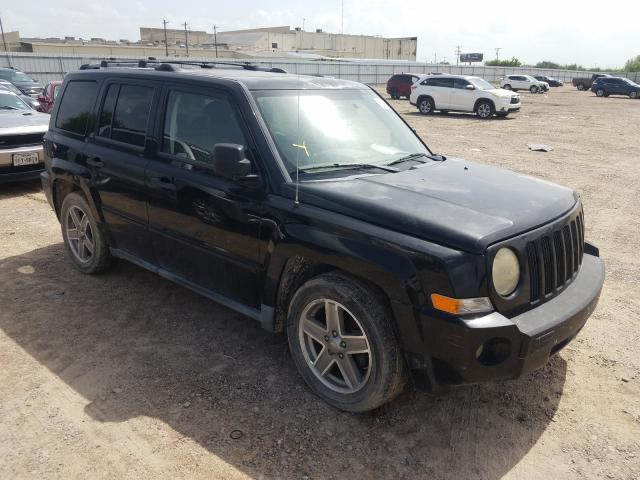 Salvage cars for sale from Copart Mercedes, TX: 2007 Jeep Patriot LI