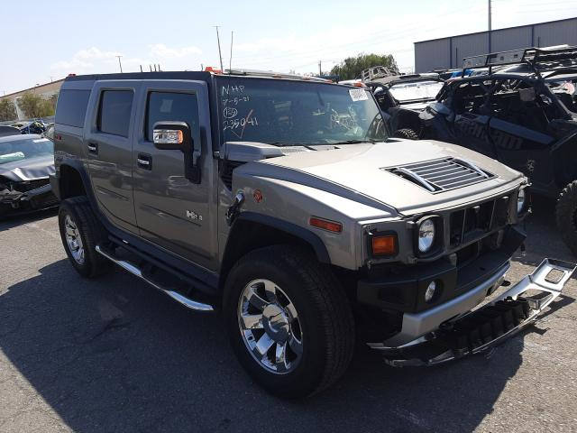 Hummer salvage cars for sale: 2009 Hummer H2 Luxury