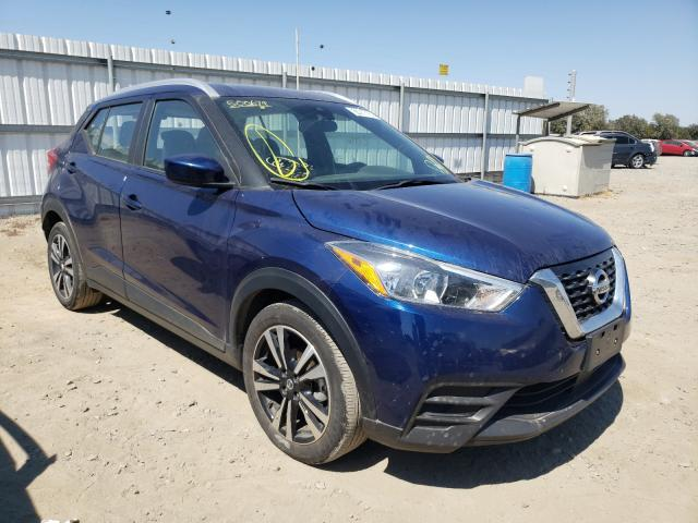 Salvage cars for sale from Copart Sacramento, CA: 2020 Nissan Kicks SV