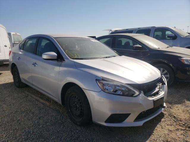 Salvage cars for sale from Copart Sacramento, CA: 2019 Nissan Sentra S
