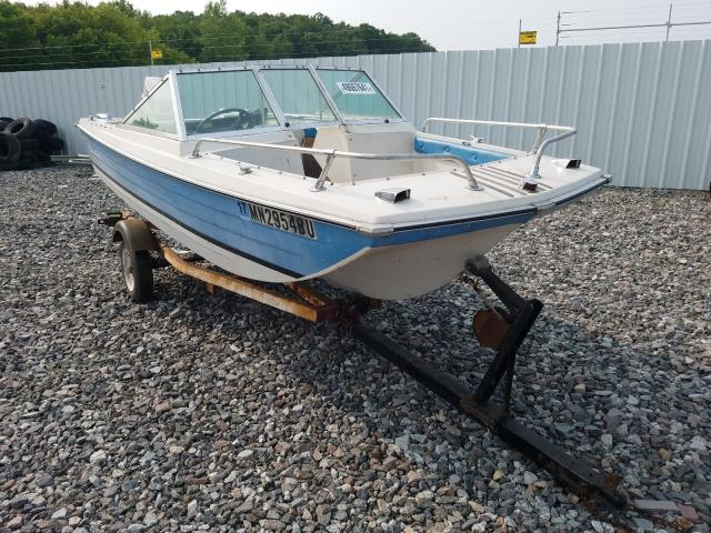 Salvage cars for sale from Copart Avon, MN: 1973 Crestliner Boat