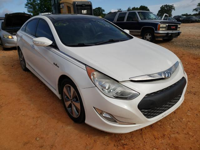 Salvage cars for sale from Copart China Grove, NC: 2011 Hyundai Sonata Hybrid
