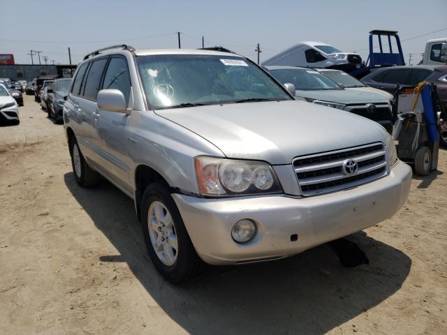 Toyota Vehiculos salvage en venta: 2002 Toyota Highlander