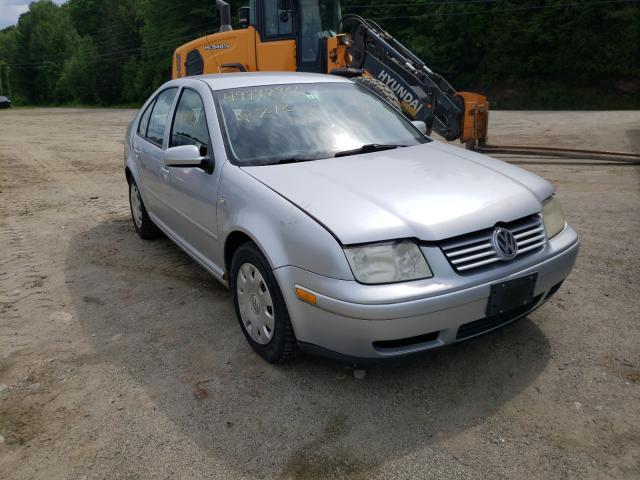 Salvage cars for sale from Copart West Warren, MA: 2002 Volkswagen Jetta GLS