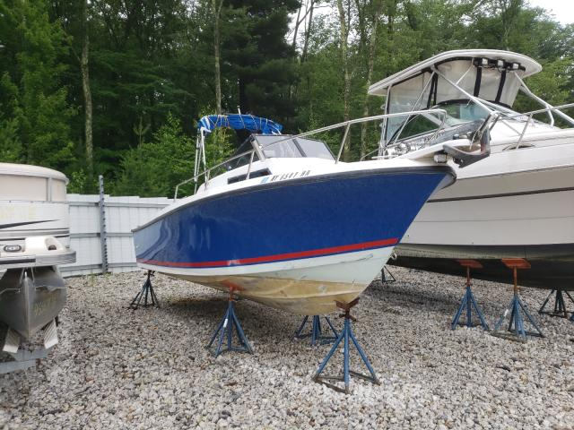 Salvage boats for sale at West Warren, MA auction: 1989 Seacat Boat