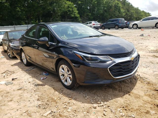 Salvage cars for sale from Copart Austell, GA: 2019 Chevrolet Cruze LT