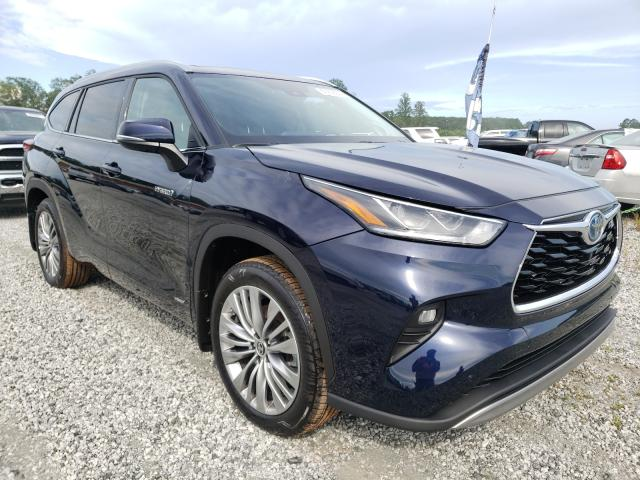 Salvage cars for sale from Copart Spartanburg, SC: 2021 Toyota Highlander