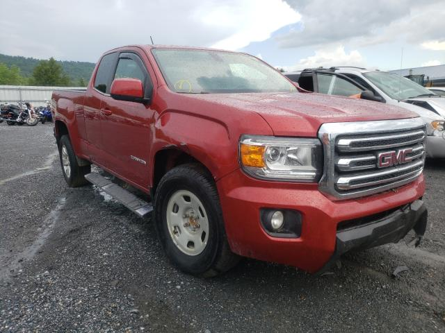 Salvage cars for sale from Copart Grantville, PA: 2015 GMC Canyon SLE