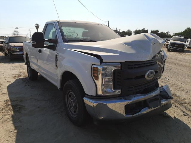 Salvage cars for sale from Copart Fresno, CA: 2019 Ford F-250
