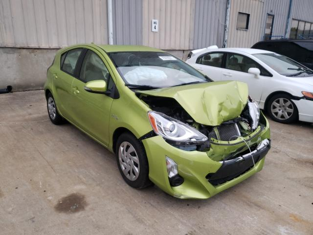 Salvage cars for sale from Copart Lawrenceburg, KY: 2015 Toyota Prius C