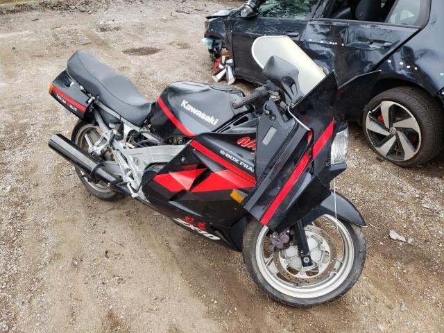 Kawasaki ZX1000 B salvage cars for sale: 1990 Kawasaki ZX1000 B