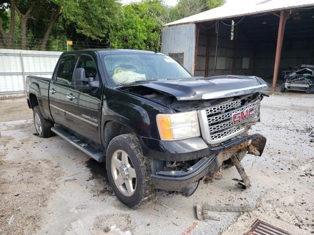 Salvage trucks for sale at Corpus Christi, TX auction: 2012 GMC Sierra K25