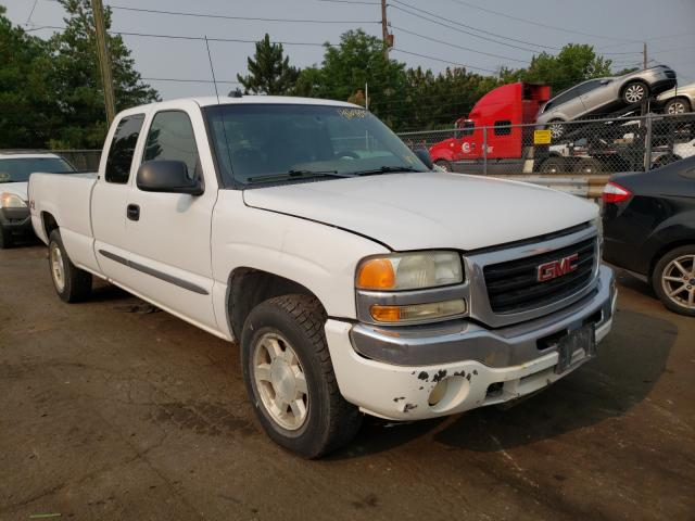 Salvage cars for sale from Copart Denver, CO: 2005 GMC New Sierra