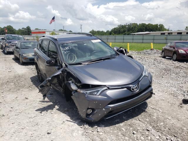 Salvage cars for sale from Copart Montgomery, AL: 2016 Toyota Rav4 XLE