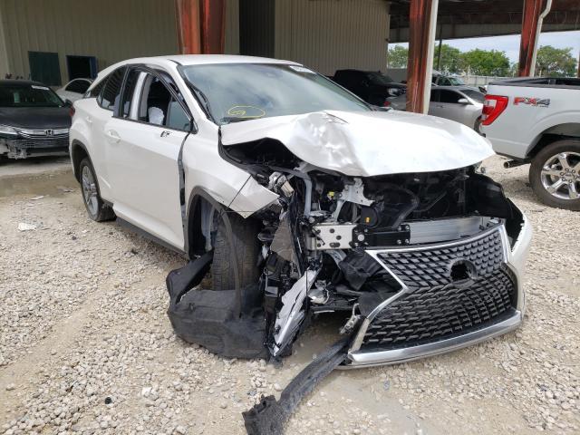 Vehiculos salvage en venta de Copart Homestead, FL: 2021 Lexus RX 350 Base