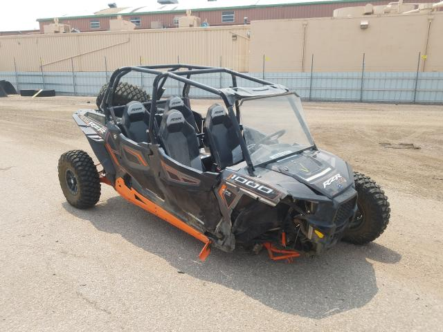 Salvage motorcycles for sale at Colorado Springs, CO auction: 2014 Polaris RZR 4 1000