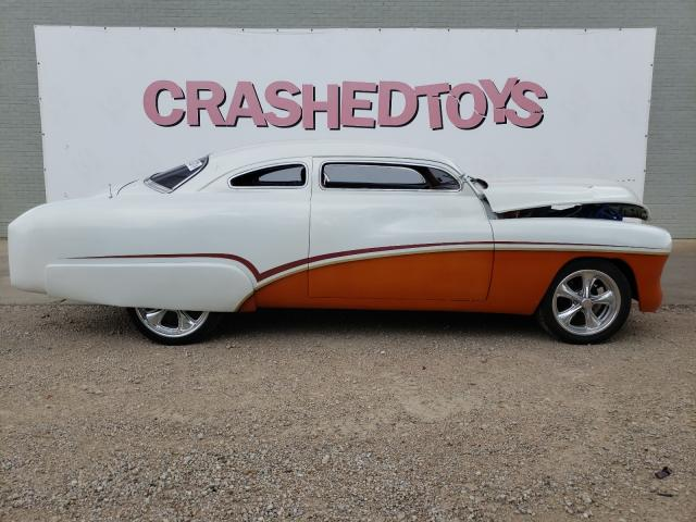 Salvage cars for sale from Copart Dallas, TX: 1951 Mercury Coupe