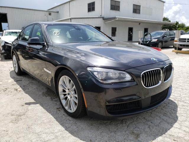 Salvage cars for sale from Copart Riverview, FL: 2014 BMW 750 I