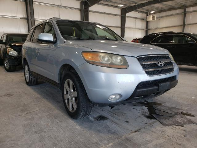 Salvage cars for sale from Copart Greenwood, NE: 2007 Hyundai Santa FE S