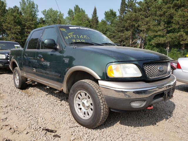 Salvage cars for sale from Copart Ham Lake, MN: 2003 Ford F150 Super