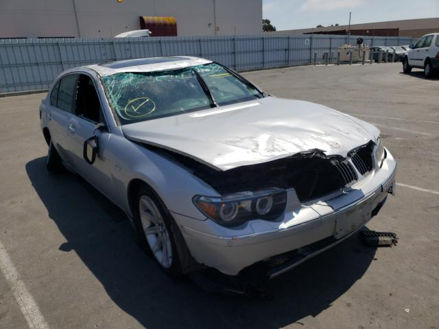 Salvage cars for sale from Copart Hayward, CA: 2005 BMW 745 LI