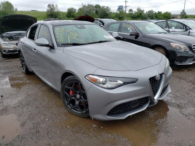 Alfa Romeo Giulia salvage cars for sale: 2020 Alfa Romeo Giulia