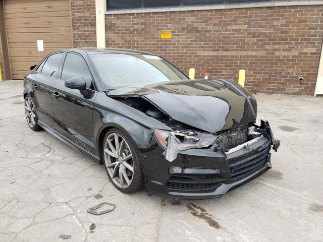 Salvage cars for sale from Copart Wheeling, IL: 2016 Audi S3 Premium