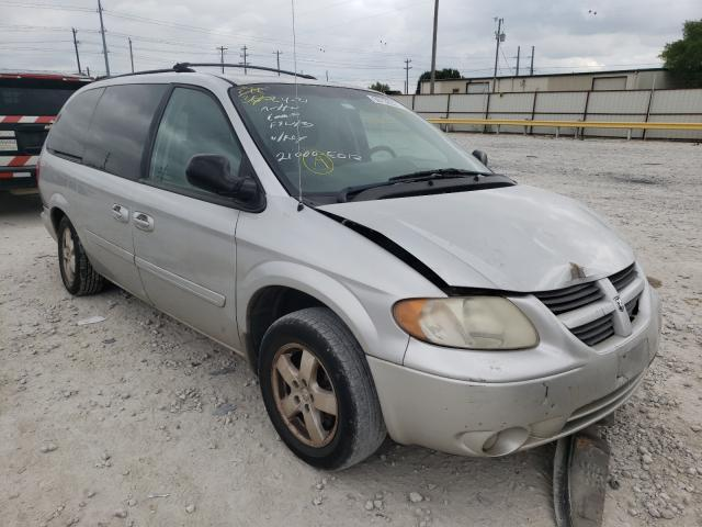 Salvage cars for sale from Copart Haslet, TX: 2007 Dodge Caravan
