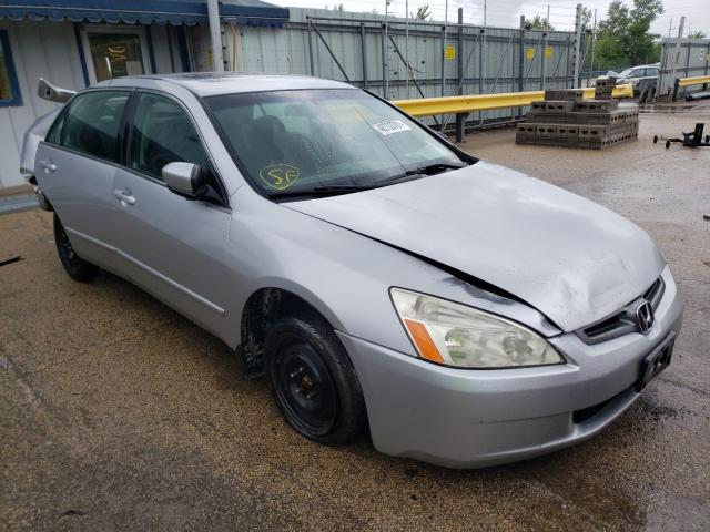 Salvage cars for sale from Copart Pekin, IL: 2003 Honda Accord EX