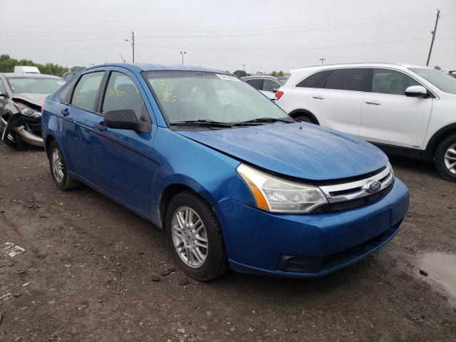 Salvage cars for sale at Indianapolis, IN auction: 2011 Ford Focus S